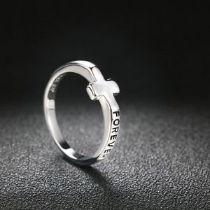 Jewelry - Religious Catholic Cross Stainless Steel Ring